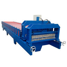 2018 Heavy metal roof tile forming machine popular