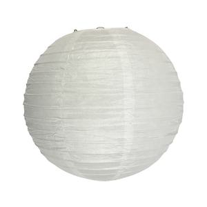 Wholesale market professional cheap chinese decoration white round paper lantern
