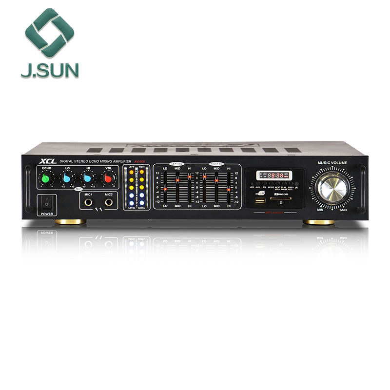 home audio amplifier with USB SD FM EQ
