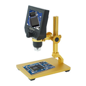 kailiwei Lifting bracket Build In Battery Lcd Display Portable Electronic Repair Digital Microscope