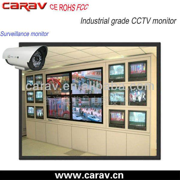 промышленного класса настенное крепление 15 дюймов цифровой tft жк-монитор cctv