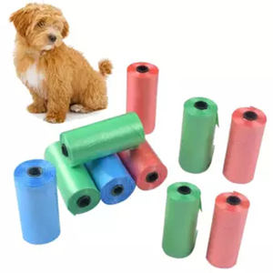 Small size Biodegradable Poo Dog Bag Pet Cat Waste Poop Clean Pick Up Garbage Bags