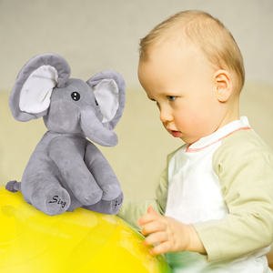 Wholesale Elephant Plush Toy Sing and Play Elephant Plush Stuffed Toys Interactive Funny Baby Doll Elephant Electronic Toys