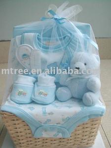 plush toy and baby bib 9 pcs infants gift set baby gift