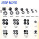HOP HING plastic snap button / snap button / various size button for clothing