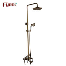Fyeer Exposed Shower Bathroom Antique Bath Shower Set