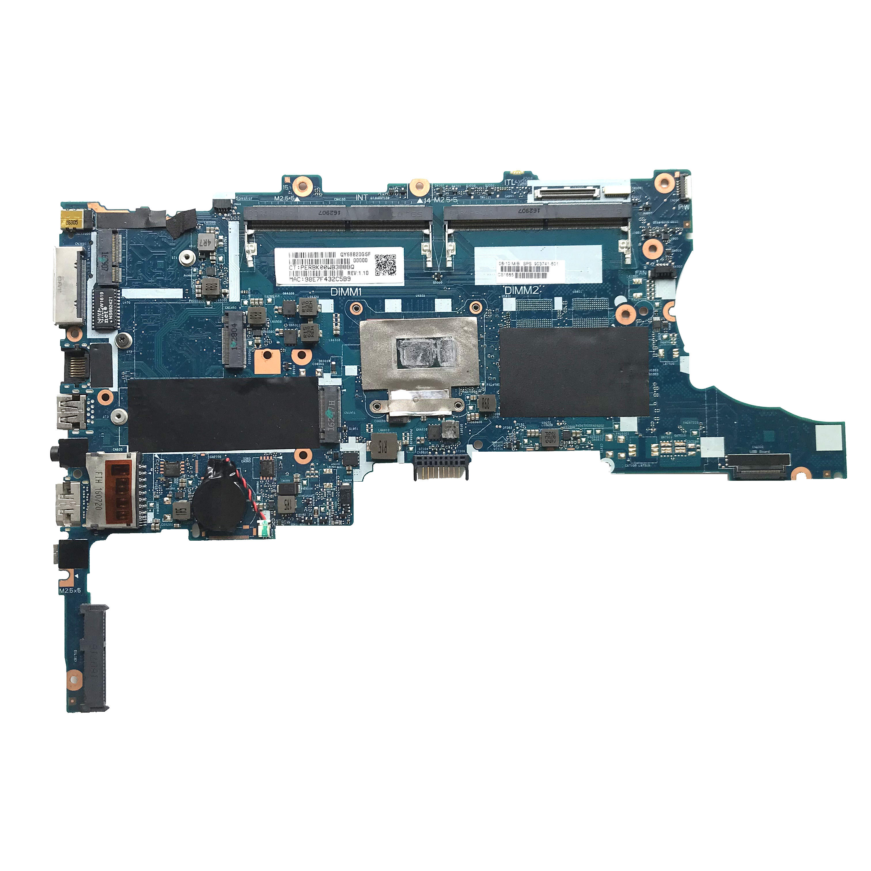 For HP EliteBook 840 G3 laptop motherboard 903741-601 903741-501 903741-001 With i5-6300U DDR4 6050A2822301-MB-A01