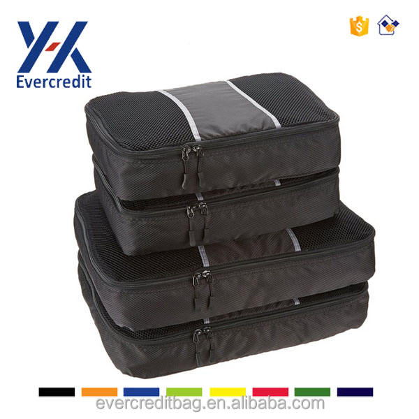 Shoe Packing Cubes for Travel Use YKK zipper Shoes Storage Bag 2 Packs, Black Shoe Pouch Shoe Bags for Travel Waterproof Shoes Organizer TENRAI Three dimensional Square Shoe Bags Big Opening