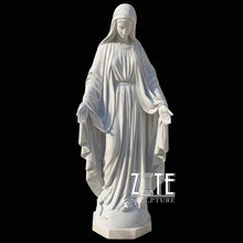 Hot Sale Outdoor mexican religious life size mary statue