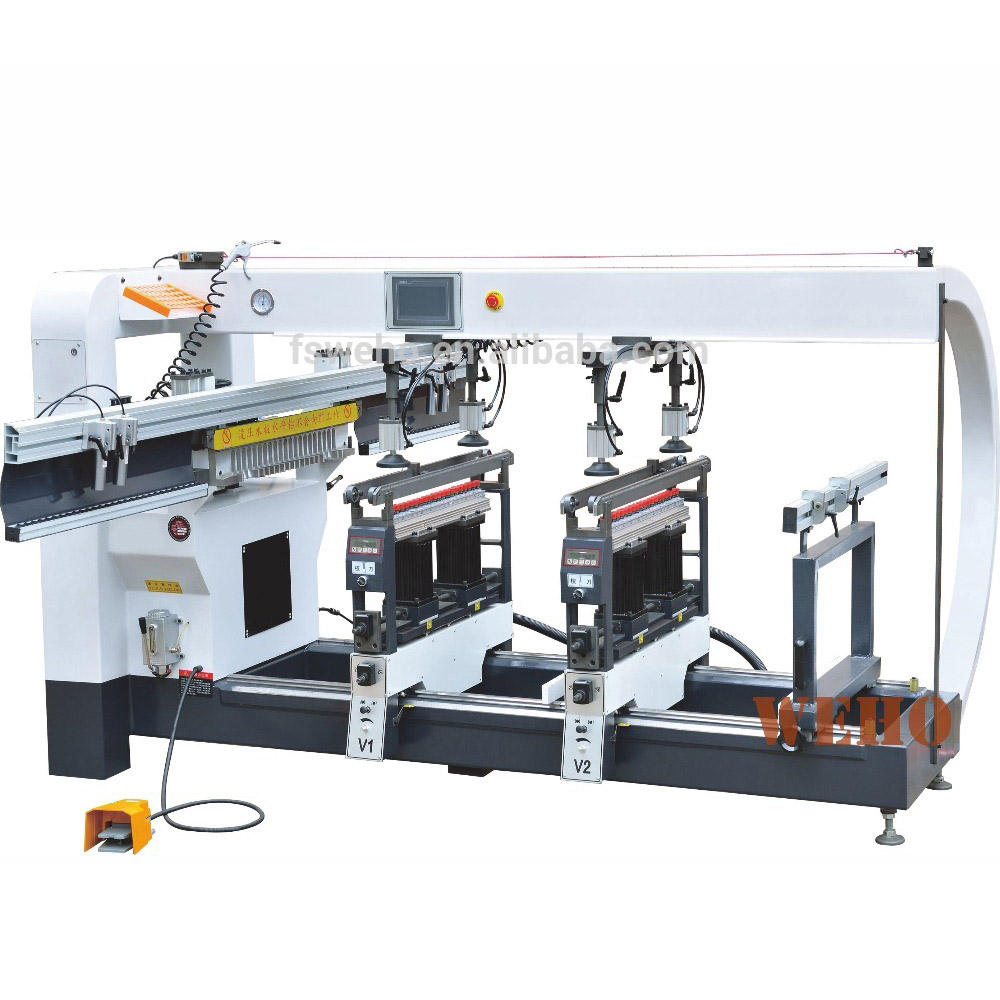 horizontal multi wood dowel drilling machine