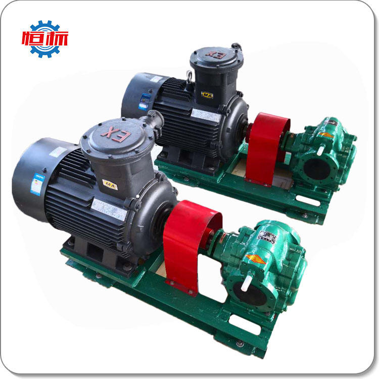 Chinese factory price KCB high flow booster self priming electric petrochemical heavy fuel oil transfer gear pump
