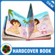 Hard cover child book, kids coloring printing book childrens