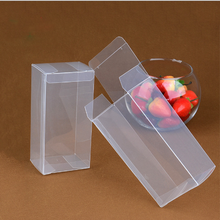 Transparent printable pp plastic box with low price