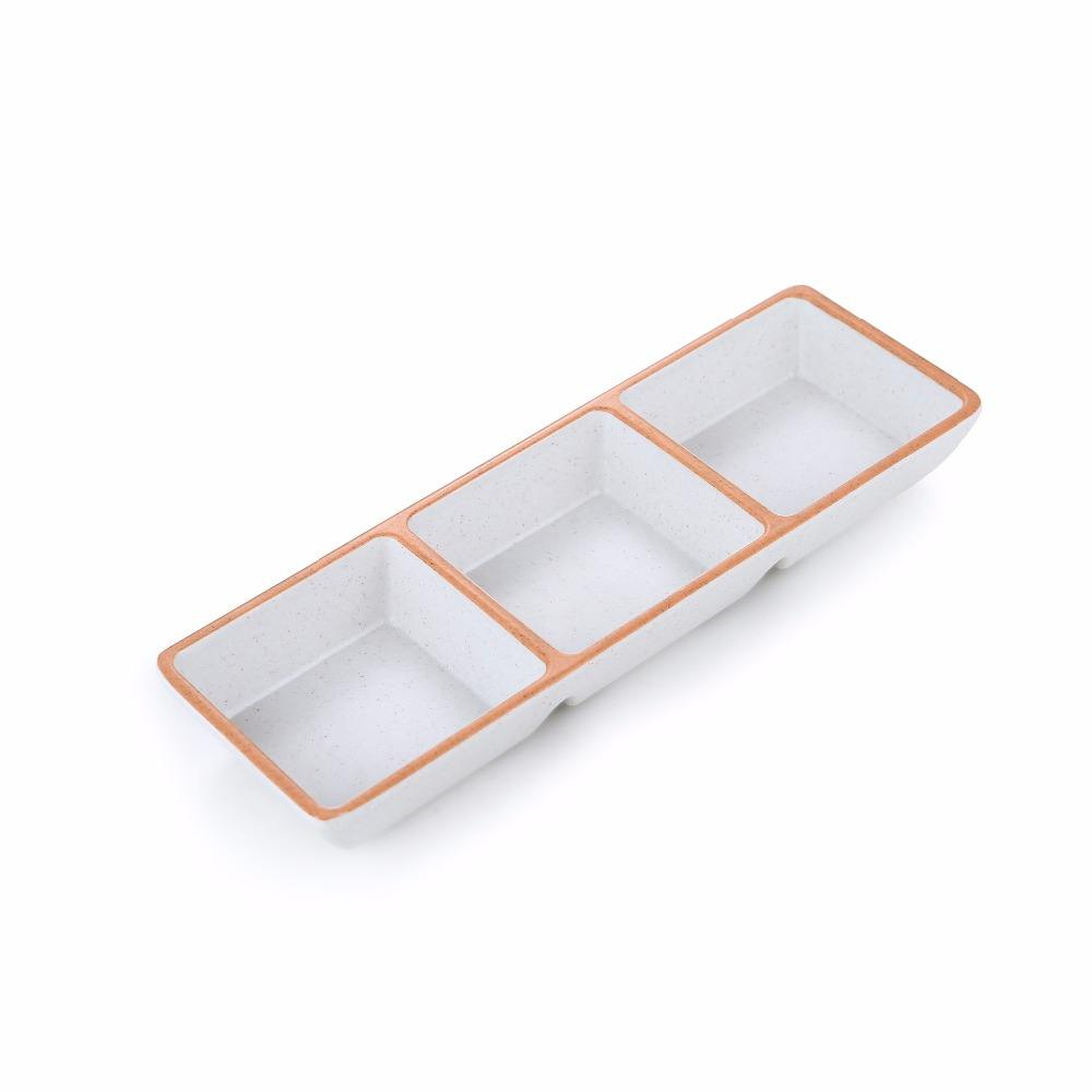 best seller rectangle soy sauce dish for sushi