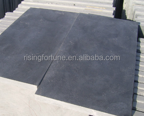 China cheap blue limestone paver slabs for sale