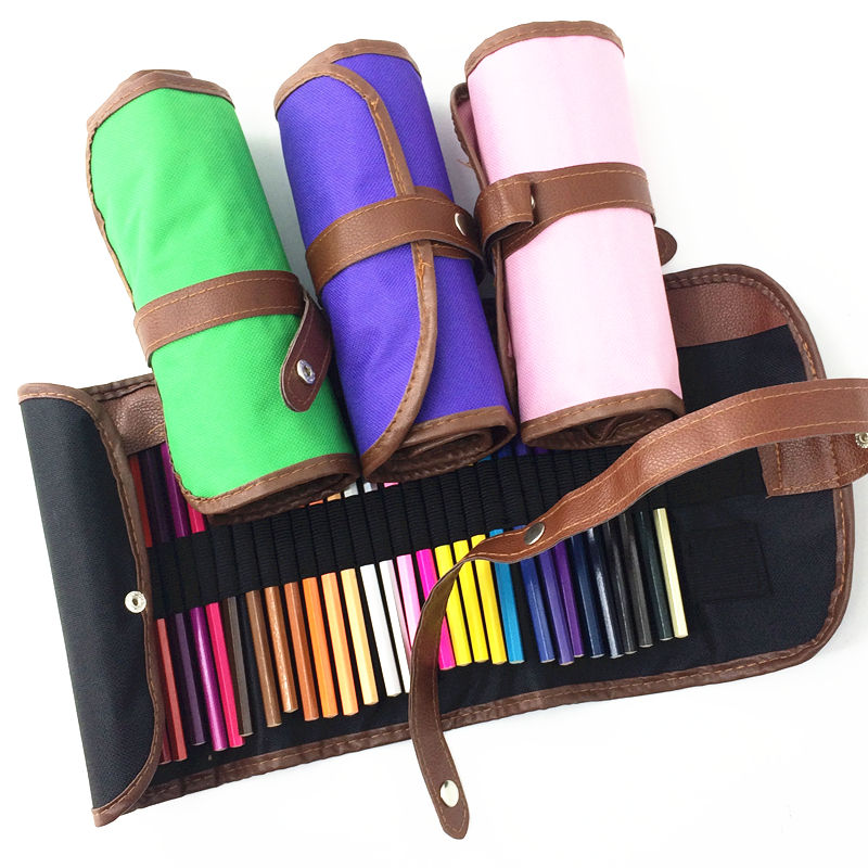 Premier Premium 36-Piece Artist Pencil Colored Pencil Drawing with roll up Canvas Bag Sketch