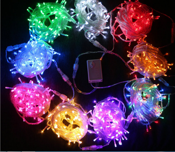 ROPIO Christmas Holiday Fairy lighting 10m 100LED connectable xmas waterproof led string light