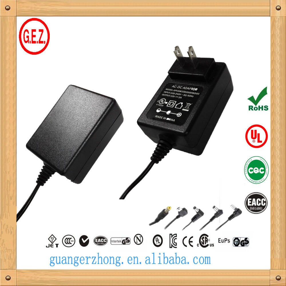 RoHS ce 100 - 240 v ac 26 v 1a dc kualitas tinggi switching power adapter
