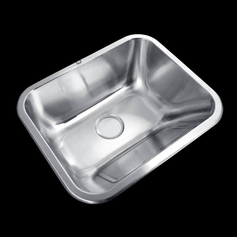 Wholesale Stainless Steel Laundry Sink For Home Poland Style Laundry Kitchen Sink With Wash Board