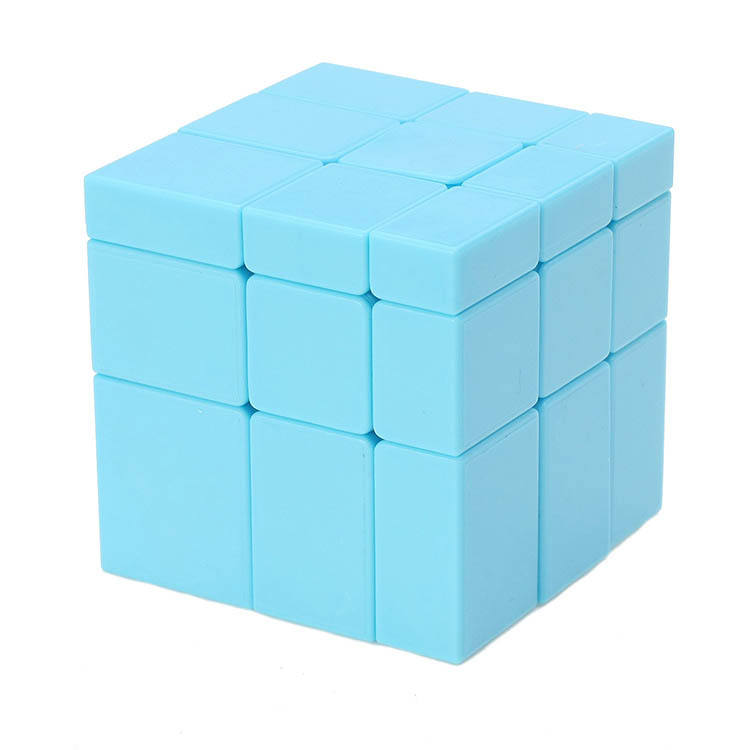 How to solve anomalous colorful mirror stickerless magic cube