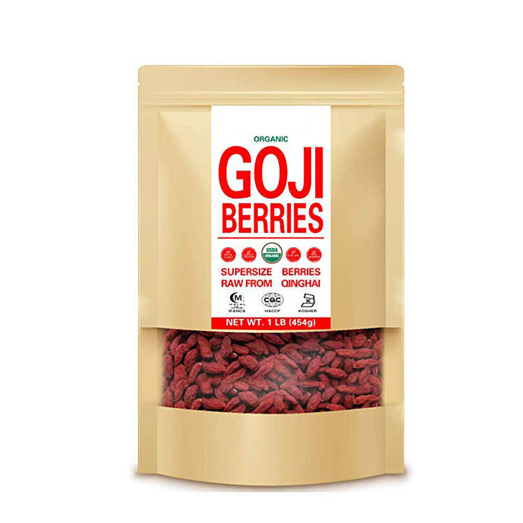 Organic Goji Berries Dried Fruit Chinese Wolfberry
