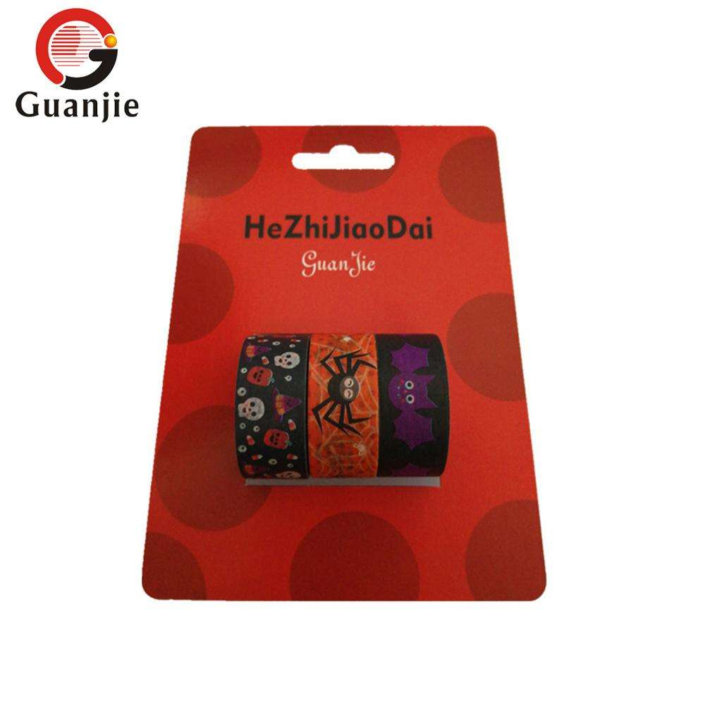 Kostenlose proben Halloween washi band/Halloween dekorative Washi band