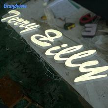 Waterproof decoration outdoor & indoor led sign electronic lighting letter sign
