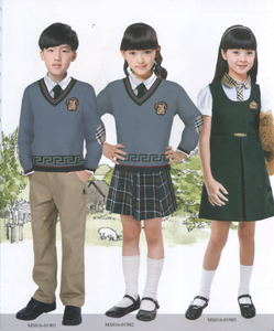 long sleeve sweater short skirt ceremonial primary school uniforms