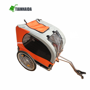 Wholesale supply bicycle trailer folding cargo / dog bike trailer for sale
