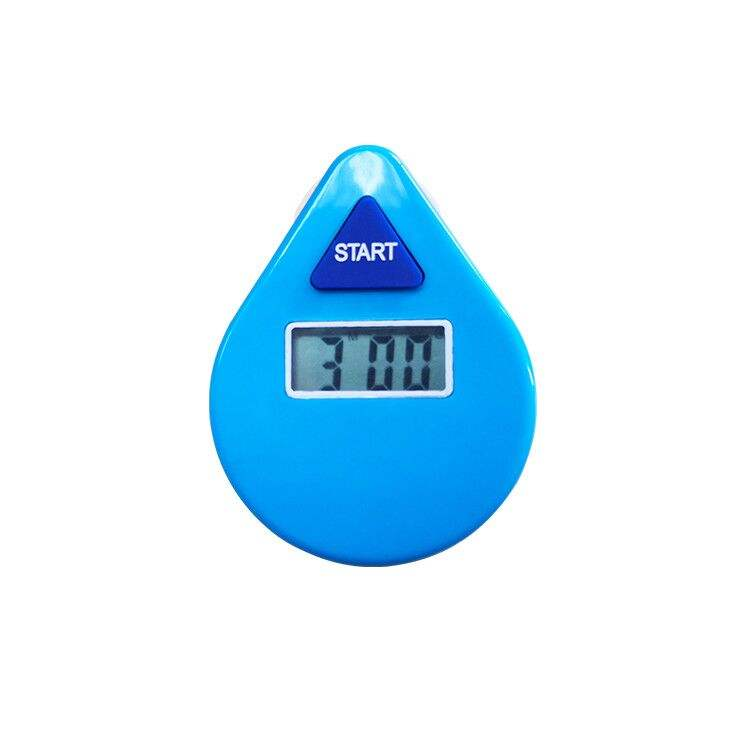 Waterproof three 3 minutes count down electronic shower timer for bath room