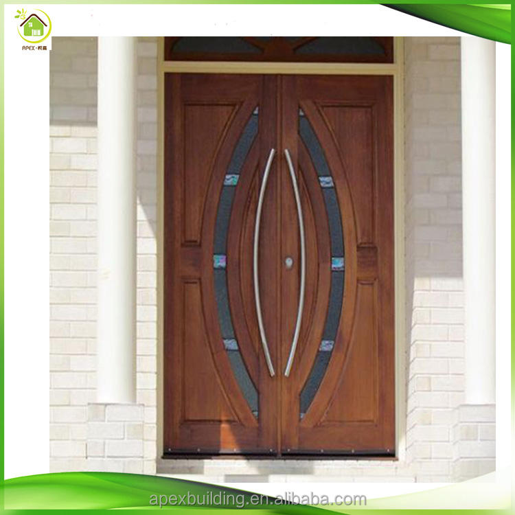 mahogany modern solid wood entry hardwood front doors