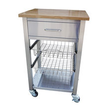 high quality stainless steel kitchen furniture food carts