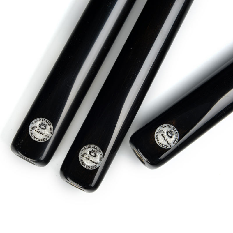 O'MIN Classic high quality handmade snooker cue ebony pool stick