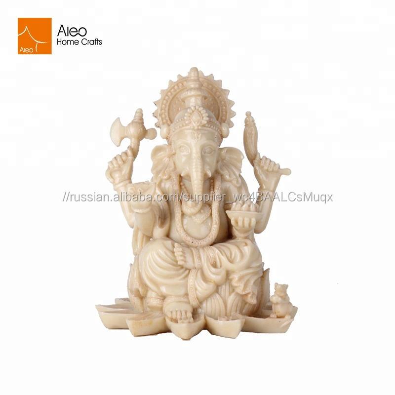Религия украшения Горячая Распродажа индуистские боги маленькая Смола Индия Ганеша идол