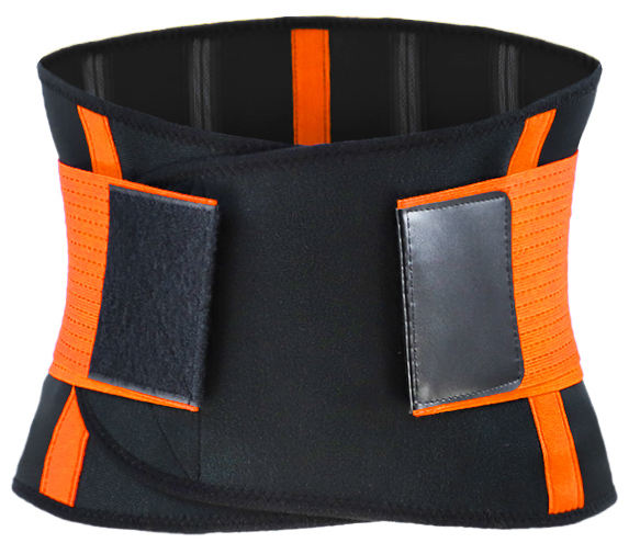 Low MOQ Elastic Back Waist Support Belt with Steel Stay for Men Fitness Training