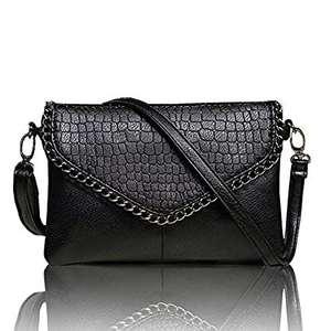 2019 grandes de moda Bolsos Mujer negro bolsas femenina sobre grande cadena embrague bolso (XJGY42)