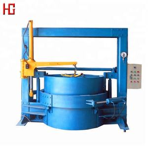 Factory price old waste used tire recycling machine / tire repairing machine