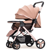 China Cost effective New Easy Foldable Baby Buggy Stroller
