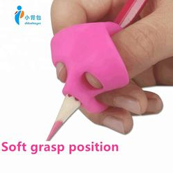 Custom 100% silicone rubber triangle the easy pencil grip ch