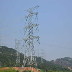 high quality stable tower 500kv transmission line