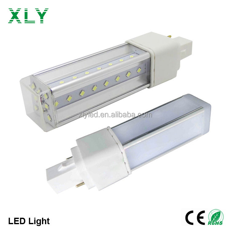 2018 Hot Koop <span class=keywords><strong>Dimbare</strong></span> 12W 2-Pin Led Corn Bulb Light 2835SMD Hoge Heldere Led Plug Lichten Hoge power G24 Led Lamp