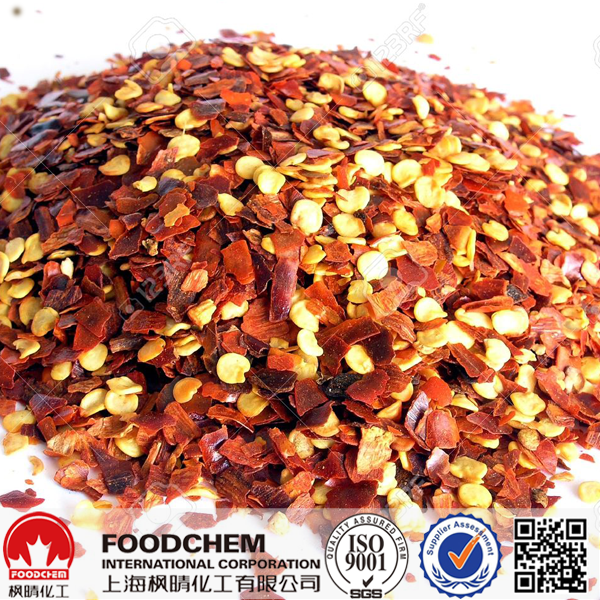 Bulk Organic Red Paprika Flakes 200 Asta China Supplier