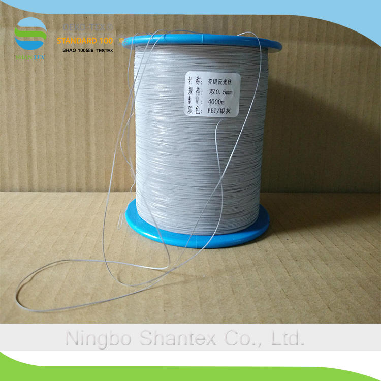 High Temperaturedand Strength Resistant Embroidery Reflective Yarn Thread for Sewing