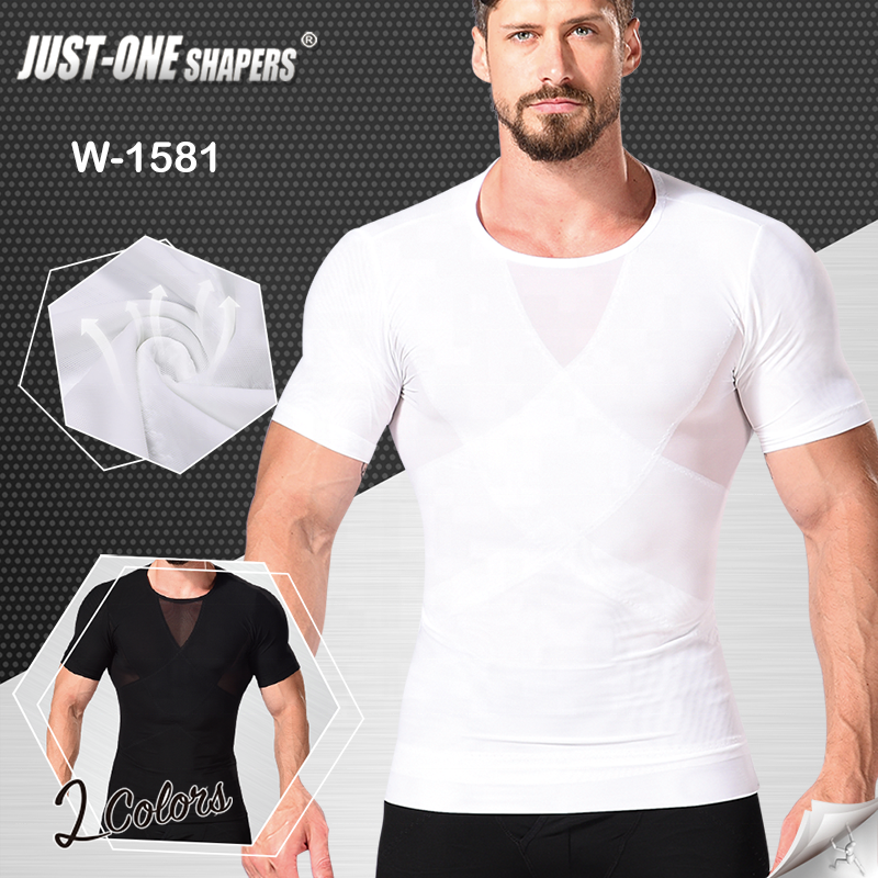 Men's Body Shaper Slimming Shirt Tummy Waist Vest Lose Weight Shirt man shapewear body shaper man shapers