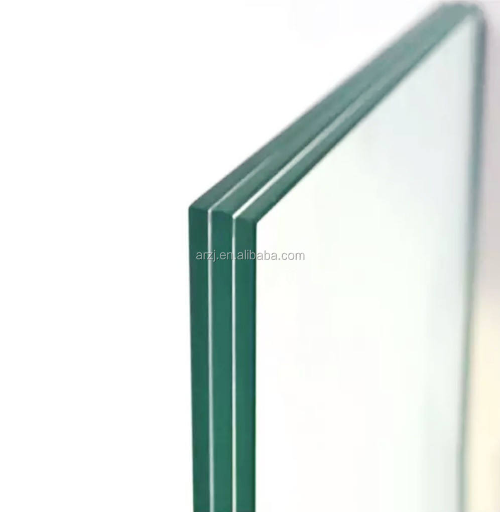 Safety glass of various sizes is used for thick laminated glass of balustrades, glass Bridges, Banks, etc