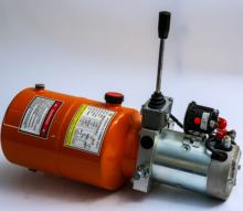 220v hydraulic power pack with double acting way for cylinder