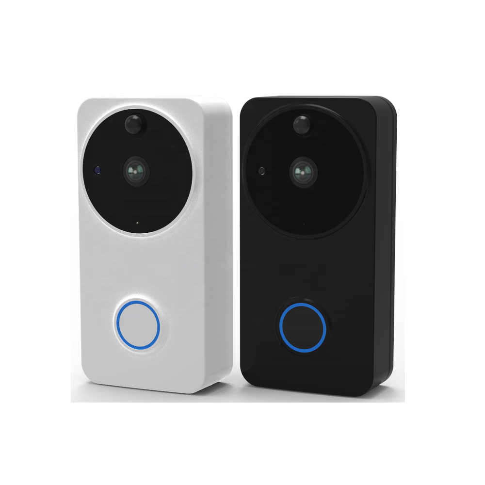 Smart Battery Powered Wireless ring Door Bell Camera Wi-Fi Enabled outdoor Wireless Smart Video Doorbell