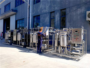 Milk pasteurizer for dairy production