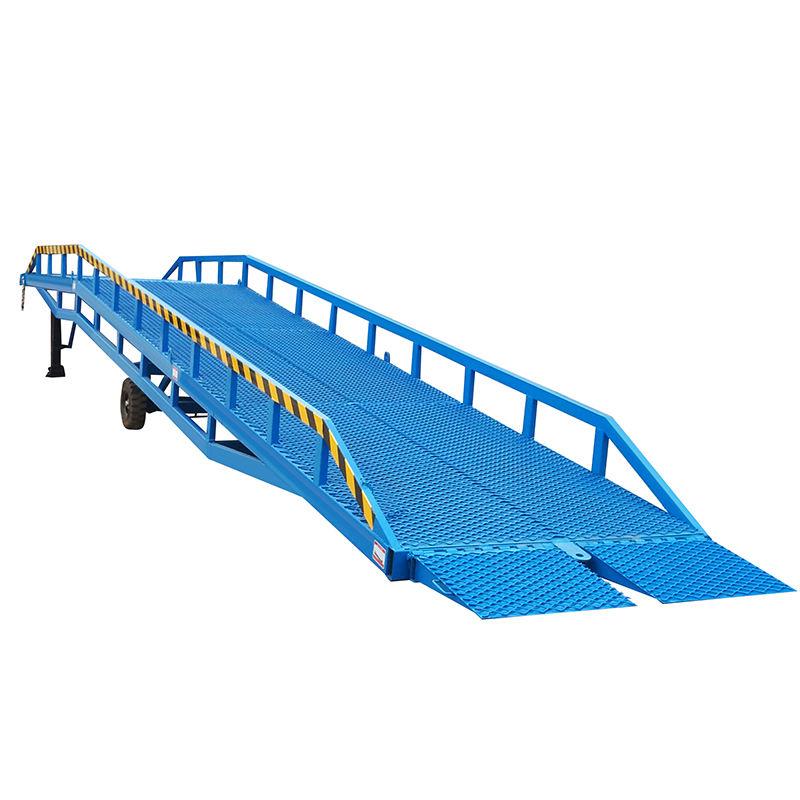 ce approved 10T loading capacity mobile container load dock ramps