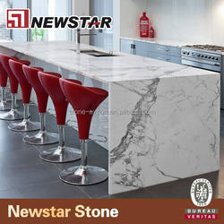 Statuario marble kitchen islands prices with natural stone countertops